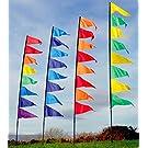 Spirit of Air Pendant Banner Kit - Yellow & Green 3.40m