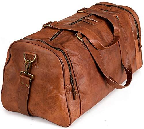 Weekender Berliner Bags Bergen XL Reisetasche aus Leder Qualität...