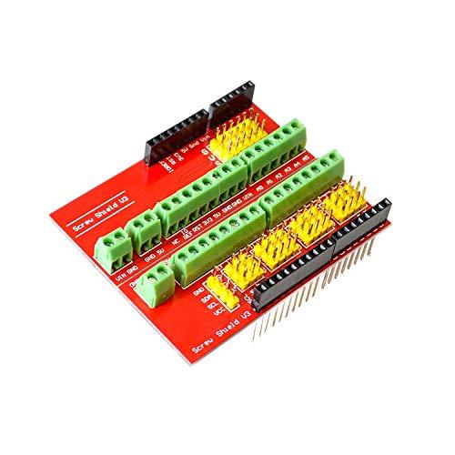 ZHITING Proto Screw Shield V1 Erweiterungskarte Kompatibel Arduino UNO R3 Top