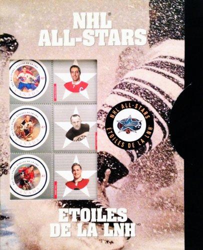 Desconocido Canada Post 2001 NHL Alumni All-Star - Juego de Sellos