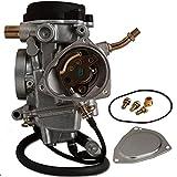 Fuerdi New Carburetor Compatible with Yamaha Big Bear 400 YFM400 Carb 2x4 4x4 2000 2001 2002 2003 2004 2005 2006