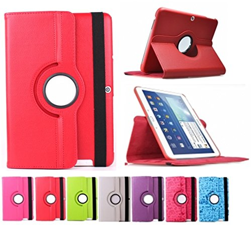 "Funda giratoria para Tablet Bq Edison 3 Quad Core 10.1"" Color: Rojo"