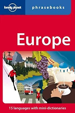 [(Lonely Planet Europe Phrasebook)] [By (author) Lonely Planet] published on (September, 2009)