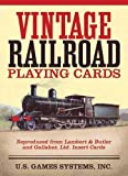 United States Games Systems Vintage Railroad Playing Cards