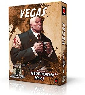 Neuroshima Hex 3.0 Board Game - Vegas Expansion
