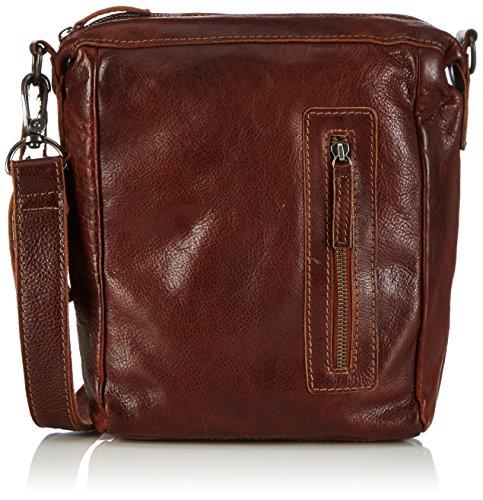 Cowboysbag Unisex-Erwachsene Bag Hobbs Schultertaschen, Braun (Cognac 300), 21x29x6 cm