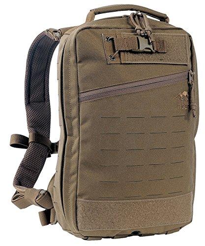 Tasmanian Tiger TT Medic Assault Pack MK II S Sac à dos tactique pour les situations d'urgence, les voyages en randonnée, le cyclisme et l'extérieur, Coyote Brown