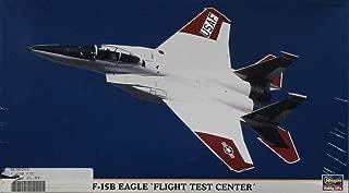 Hasegawa 1:72 F-15 B Eagle Flight Test Center Plastic Model Kit #00265