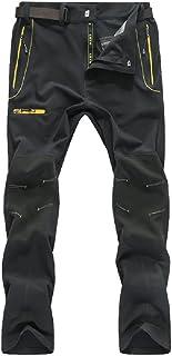 Naudamp Pantalones de Senderismo de Secado rápido para