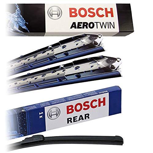 Set Bosch Wischer Wischerblatt Wischerblätter Scheibenwischer Scheibenwischerblätter Aerotwin AM462S + Heckwischer Heckwischerblatt Heckscheibenwischer A281H