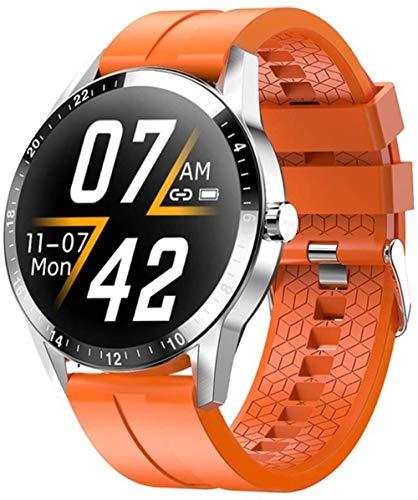 Reloj Bluetooth Llamada Pulsera Inteligente 1.3 Pulgadas Full Circle Full Touch 290 Mah Batería Grande-F