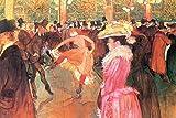1art1 Henri De Toulouse-Lautrec - Tanz Im Moulin Rouge,