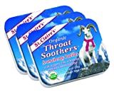 St. Claire's Organic Throat Soothers, (1.5 Ounce Tin, Bundle of 3) | Gluten-Free, Vegan, GMO-Free, Plant-Based, Allergen-Free | Made in The USA in a Dedicated Allergen-Free Facility