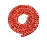 GreenCC Organizador de Cable, Tubo Flexible en Espiral para Xiaomi m365 / Pro, Manguera Resistente al Desgaste no Tóxica de 5 Colores (1m*8mm)