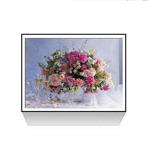 Longra 5D DIY schilderij borduurwerk strass schilderwerk knutselen kruissteek mode hal decoratie romantisch schilderwerk borduurset