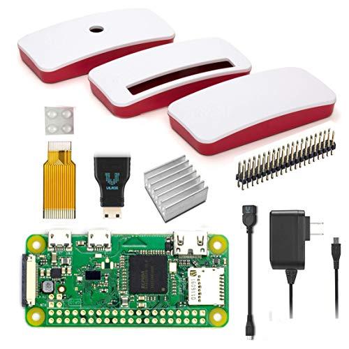 Vilros Raspberry Pi Zero W Basic Starter Kit mit offizieller Gehäuse-Netzteil und mehr