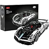 FYHCY Bloques de construcción Technic para Auto Deportivo Pagani Zonda C12, Kit de Auto de Carreras Technic Auto Custom, Compatible con tecnología Lego