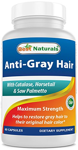 Best Naturals Anti Gray Hair Formula, 60 Count (pack of 2)