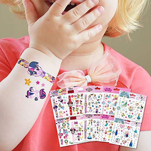 PMSMT Genuino Disney Sophia Mickey Minnie Frozen Princesa Tatuaje Pegatinas Personalizado Impermeable Reloj Pegatinas Evento para niñas Regalos