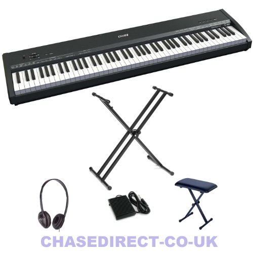 Chase P-45 Draagbare Digitale Piano + Gratis X-Stand + Sustain Pedaal Stage Piano