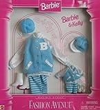 Barbie & Kelly Matchin' Styles Fashion Avenue VARSITY FASHIONS Clothes (1996)