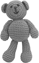 VIccoo Fotografía Prop, Nacido bebé niñas niños Oso Foto Crochet Tejido Juguete Lindo Regalo - Gris