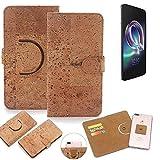 K-S-Trade 360° Cover cork Case for Alcatel Idol 5 |