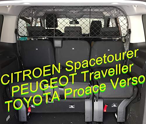 ERGOTECH Rejilla Separador protección RDA65-XL16 kty018, para Perros y Maletas. Segura, Confortable...