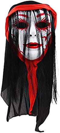 Opla3Ofx Halloween Cosplay Costume Face Mask,Halloween Masquerade Prom Party Costume Kids Adults Accessories Decorations F