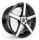 SEITRONIC RP6 Alufelge | Concave Design | Machined Face Glossy Black 19 Zoll 9,5J 5x112-ET35