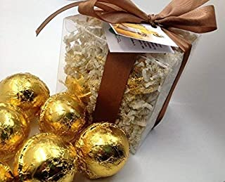 HONEY BEE GIFT SET with 6 Bath Bomb Fizzies with Shea, Mango & Cocoa Butter, Ultra Moisturizing (14 Oz) Great for Dry Skin, All Skin Types (Honey Bee)