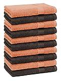 Betz Paquete de 10 Piezas de Toalla Facial Premium tamaño 30x30cm 100% algodón...