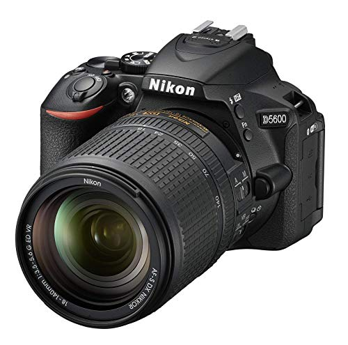 Nikon 1577 D5600 DX-Format Digital SLR with AF-S DX NIKKOR 18-140mm f/3.5-5.6G ED VR Lens, Black (Renewed)