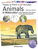 Ready to Paint in 30 Minutes: Animals in Watercolour: Build your skills with quick & easy painting projects (English Edition)