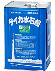 業務用 ハンドソープ ダイカ 水石鹸 #100S 18L 緑色 ブーケ香 2倍まで希釈可 泡 液体 両対応 脂肪酸カリウム 天然 せっけん 詰替用 化粧品