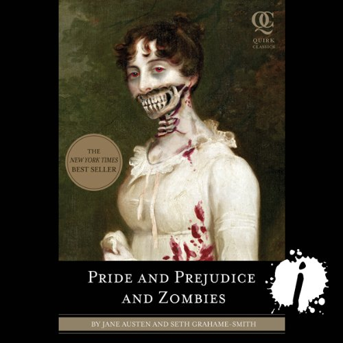 Pre-Order Pride and Prejudice and Zombies audiobook cover art