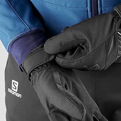 Salomon XL Gants Confortables de Course//Randonn/ée Pour Femme FORCE DRY W Noir//Blanc L40424200