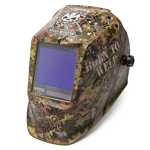Lincoln Electric K3616-4 Viking 3350 Auto Darkening Welding Helmet, Born To Weld