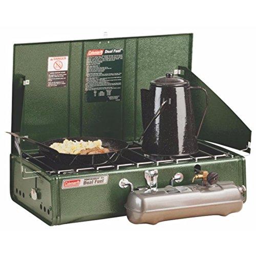 Product Image 3: Coleman 2 Burner Dual Fuel Compact Liquid Fuel Stove