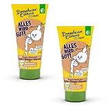 2er Pack Dresdner Essenz Dreckspatz Duschbad & Shampoo für Kinder Alles wird gut! 2 x 200 ml...
