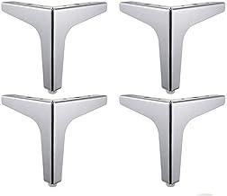 Bankkoten, roestvrij staal, meubelpoten, driehoek, tv-kast, benen, salontafel, voeten, rubberen pad beschermen de vloer, d...