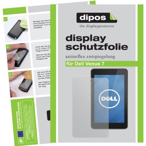 dipos I Schutzfolie matt kompatibel mit Dell Venue 7 Folie Bildschirmschutzfolie
