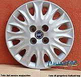 Desconocido Tapacubos genérico Fiat Punto '99 HLX 5 Puertas Quattro (4) Tapacubos diámetro 14' PROD Nuevo