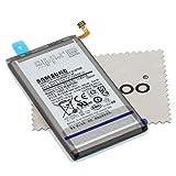 Batterie pour Samsung d'origine EB-BG975ABU pour Samsung Galaxy S10 Plus / S10+ (G975F) avec Chiffon...