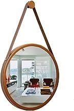 Espelho Adnet Redondo 60X4,5cm Cobre com Alça Caremelo, Reduna
