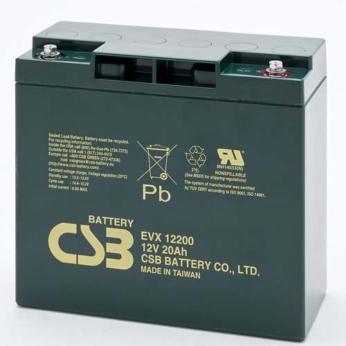CSB EVX12200 Deep Cycle AGM Battery