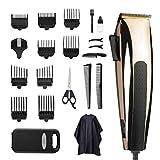 Cortapelos para hombre, cortadora de pelo, cortadora de pelo con cable, silenciosa, herramienta de peinado para niños y familias