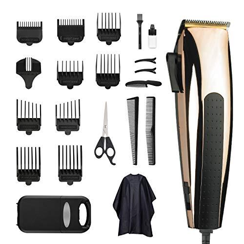 Haarschneidemaschine,Bart Trimmer Herren Schnurgebundener Haarschneider,Low Noise Haircut Männer Rasiermaschine Hair Styling-Werkzeug Gebrauch und für Kinder und Familien