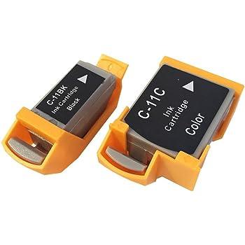 3年保証 キャノン (CANON)用 BCI-11BLACK / BCI-11COLOR 対応 互換インクカートリッジ ブラック + カラー 2個セット 0957A001 0958A001 ベルカラー製