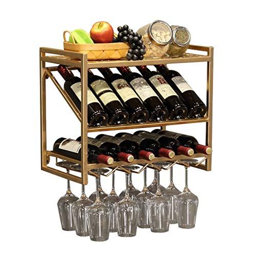 YIFEI2013-SHOP Botellero Vino Soporte de Pared for Estante de Vino de Pared Europea Sencilla for Colgar en la Pared Soporte de Vaso for Pared Colgador de Vino for Colgar en la Pared Estantería Vino